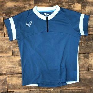 Fox Riders Racing Jersey Bike Cycling Racing Zip